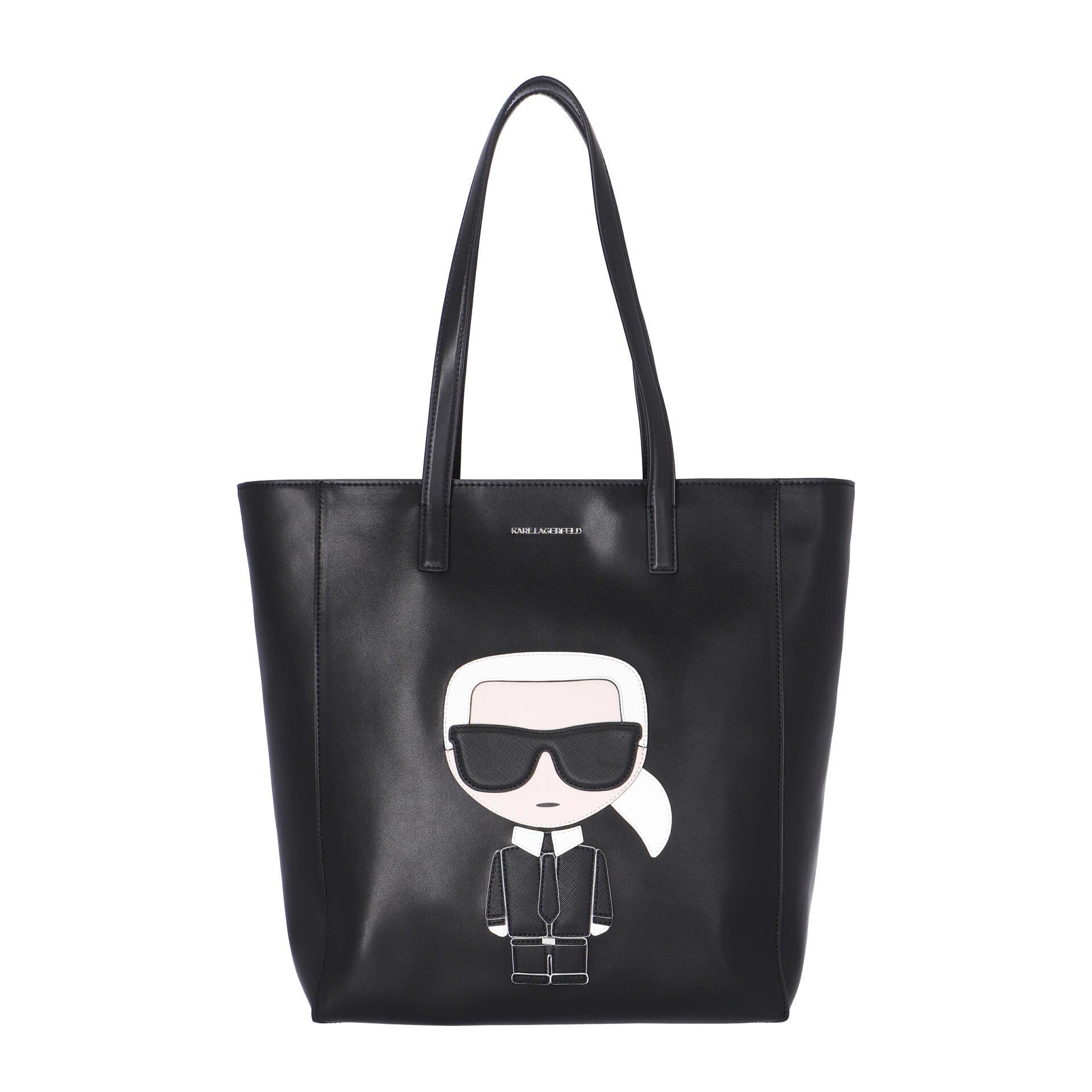 Karl Lagerfeld K/Ikonik Schultertasche black