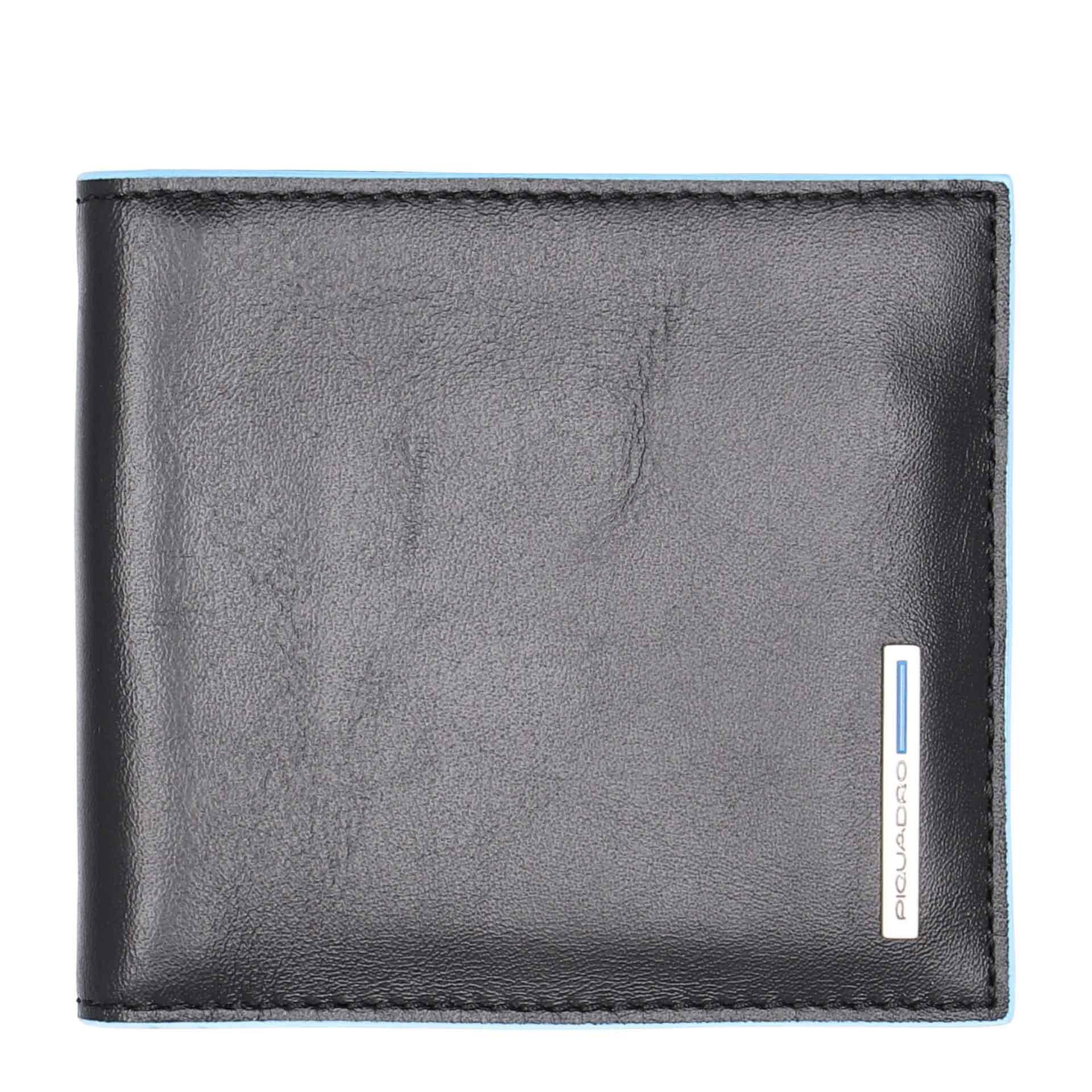 Piquadro  Herren Geldbörse mit Geldklammer black
