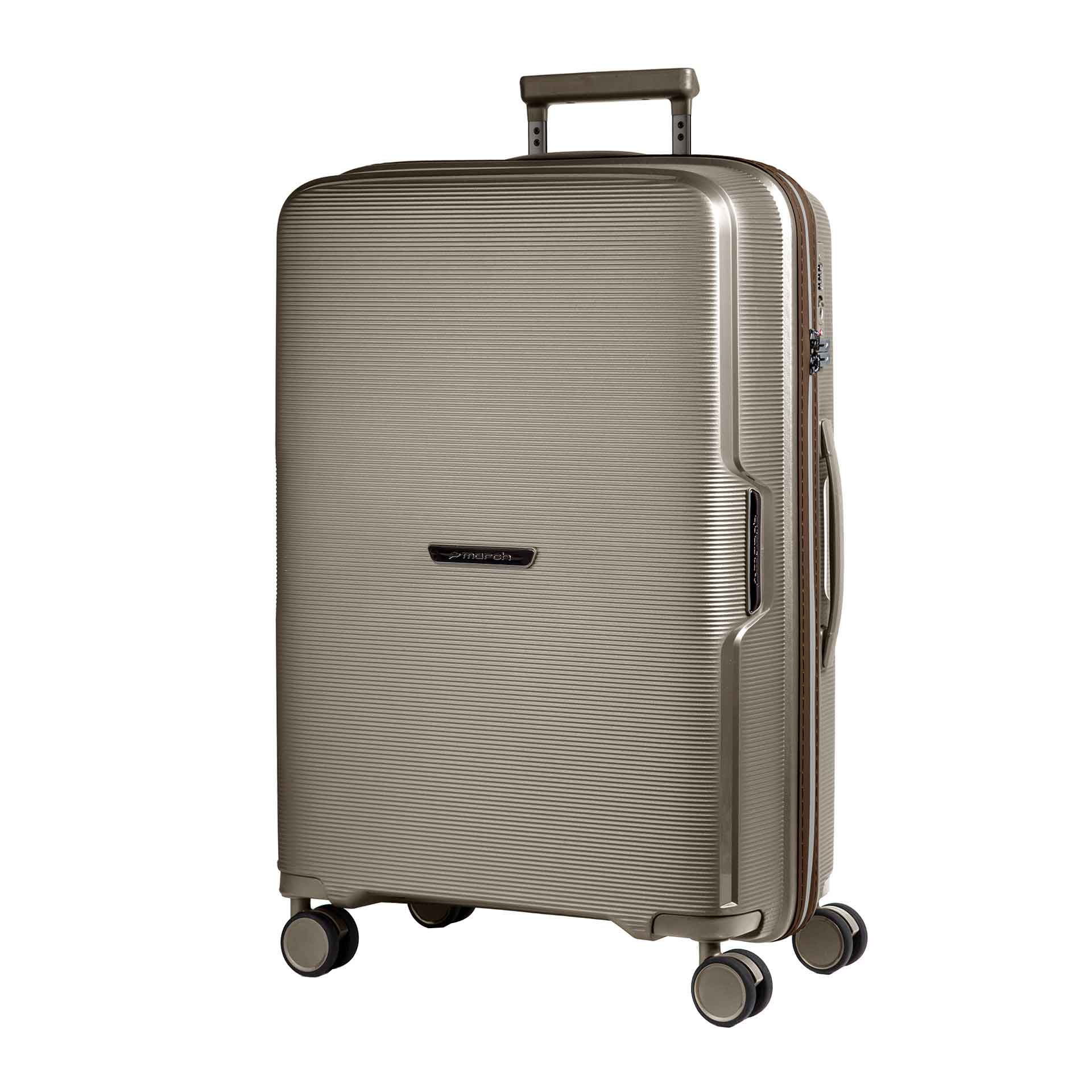 March Bel Air 4-Rad Trolley S silver bronze/ creme accent