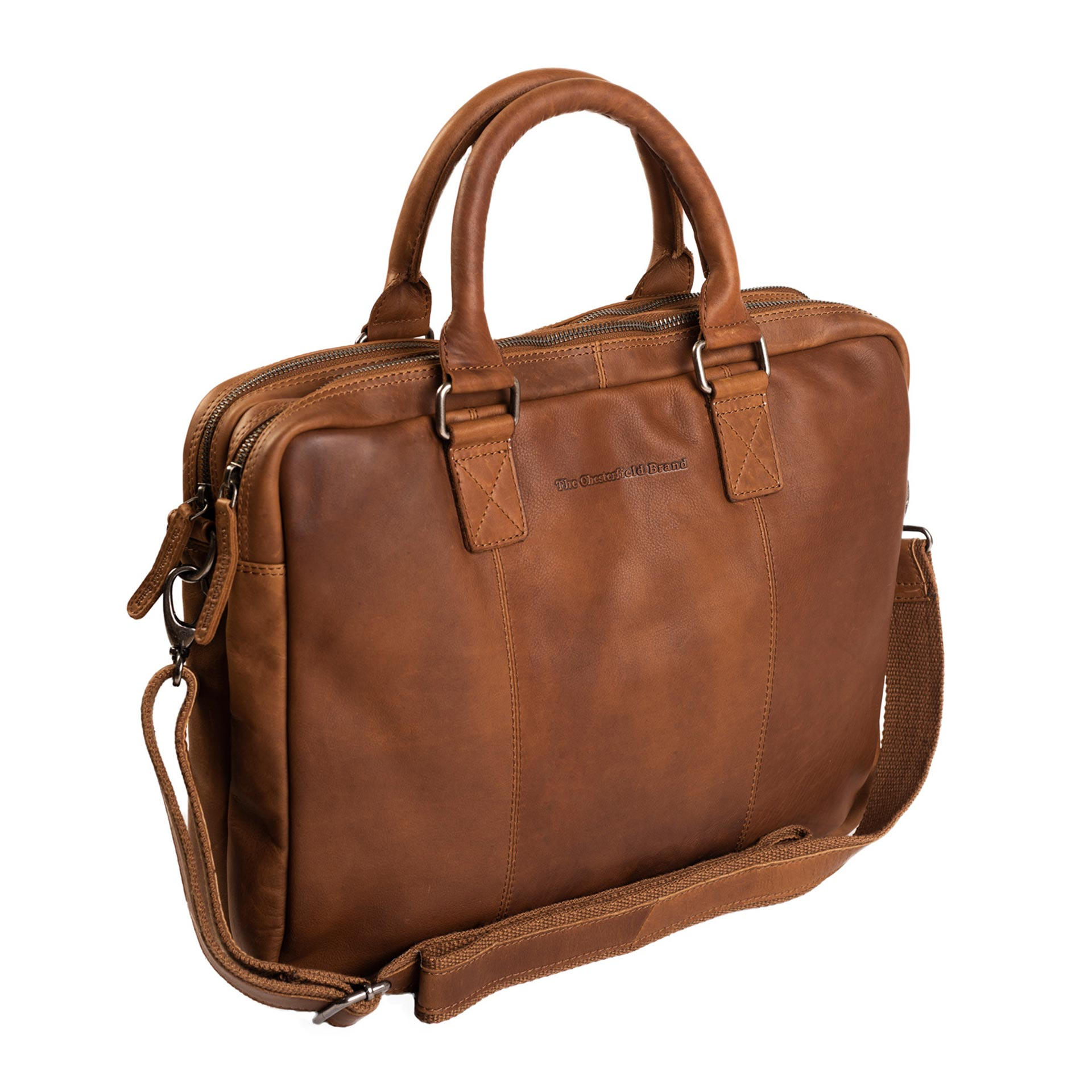Floris Laptoptasche cognac