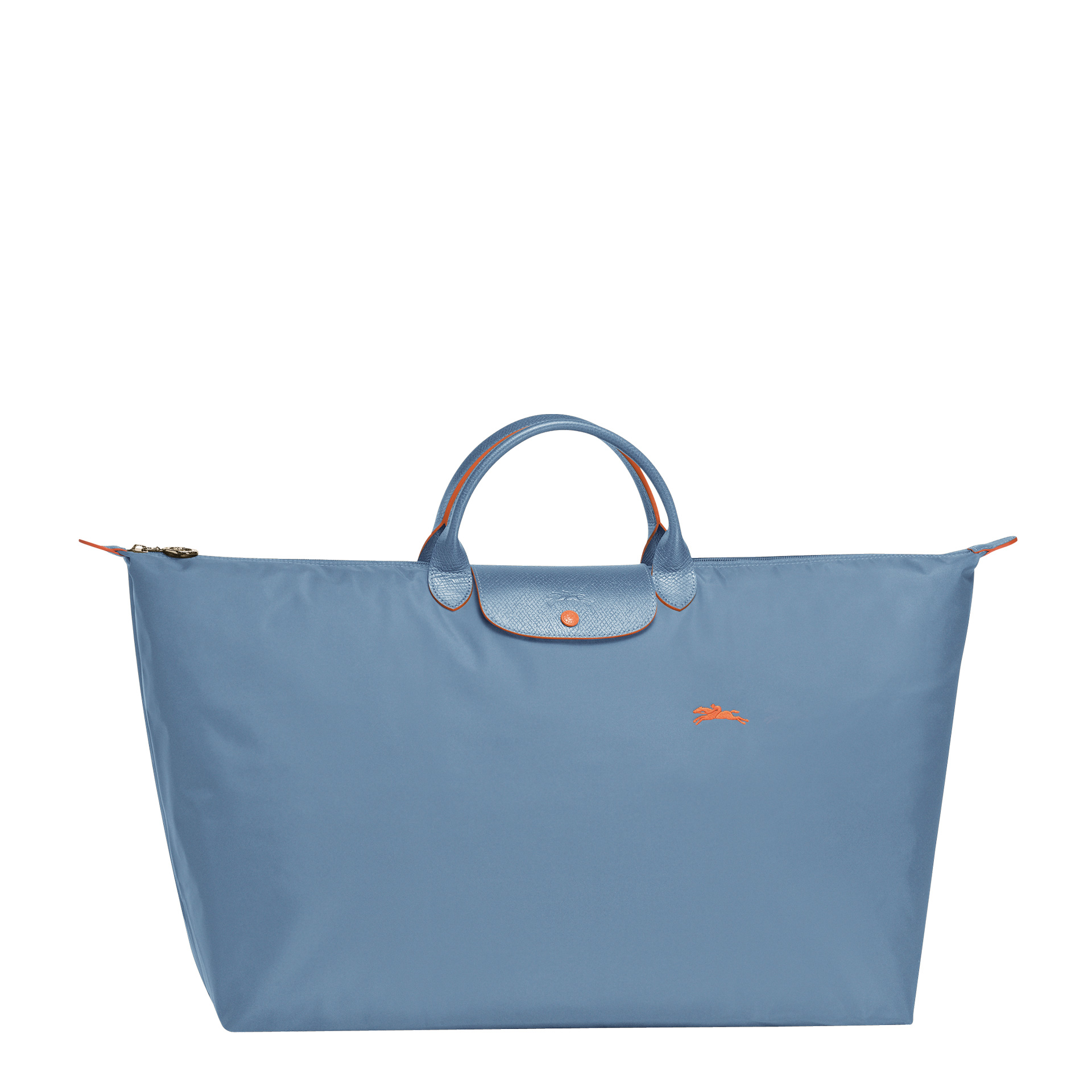 Longchamp Le Pliage Club Reisetasche XL hellblau
