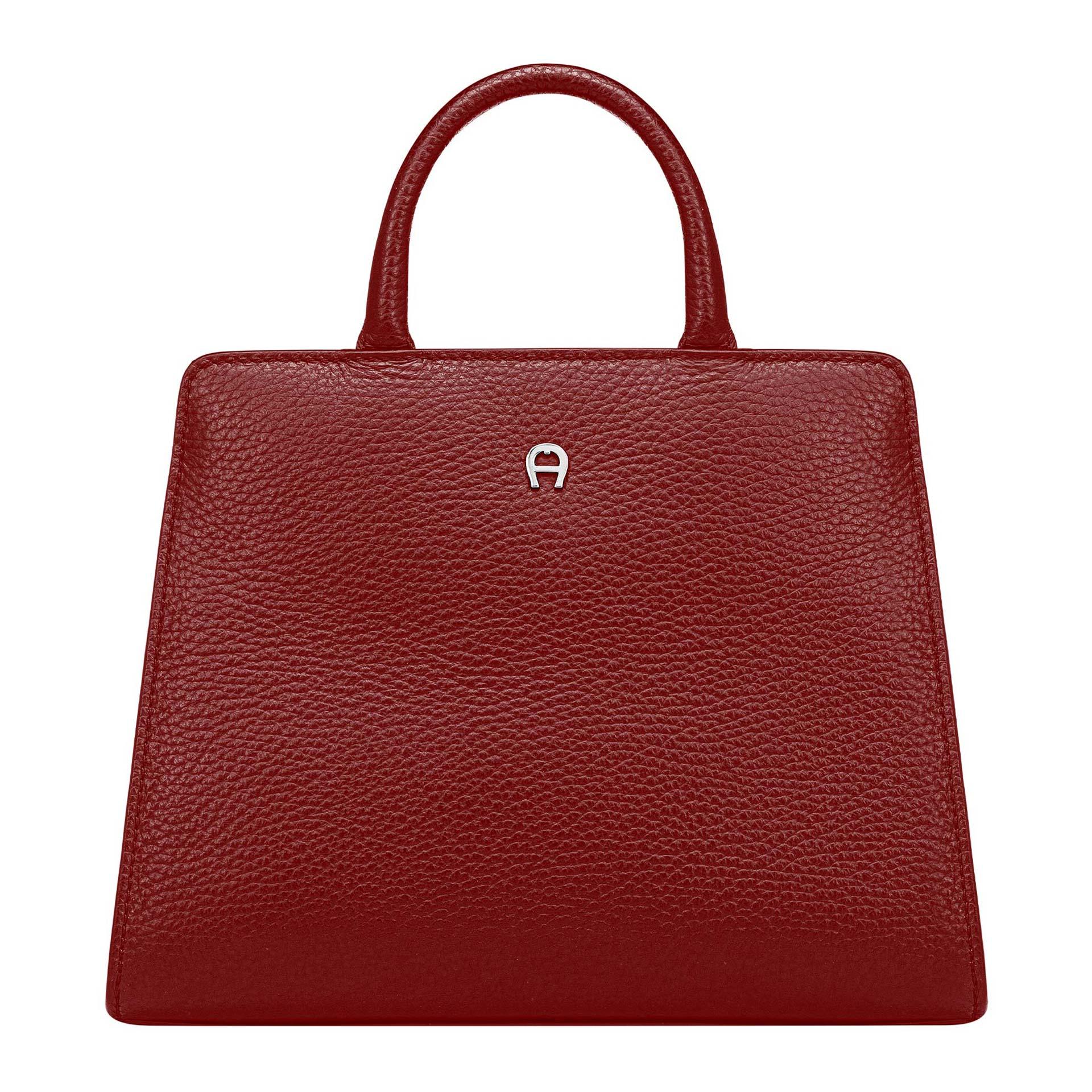 Aigner Cybill Handtasche XS burgundy