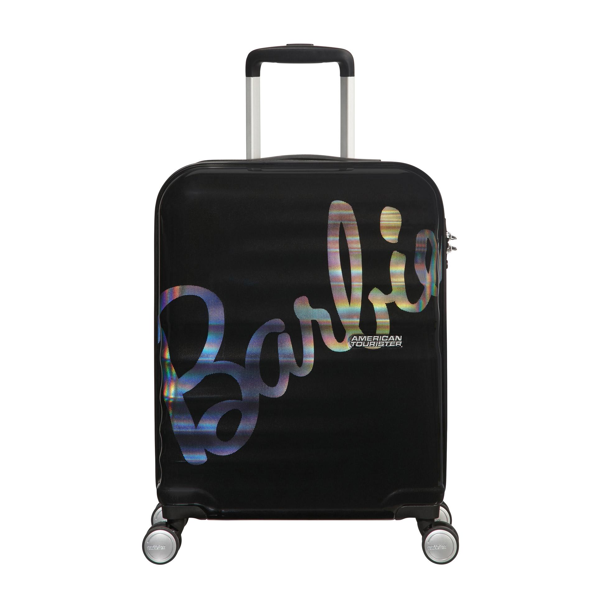 American Tourister Wavebreaker Barbie 4-Rad Trolley 55cm shimmerpowerbarbie