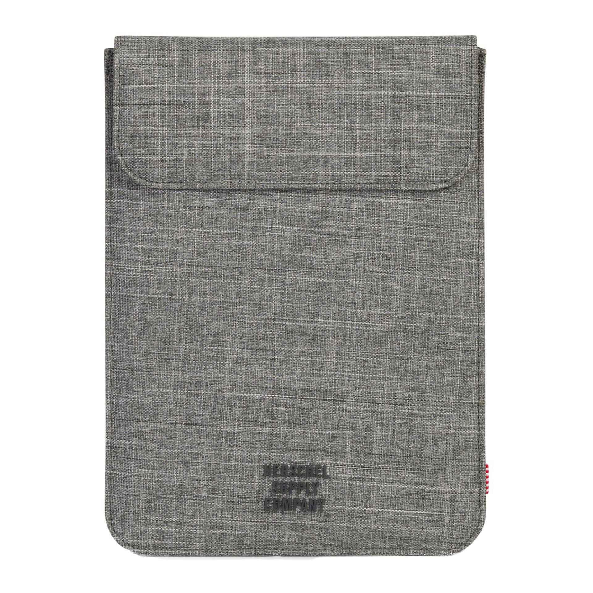 Herschel Spokane iPad Air Hülle raven crosshatch
