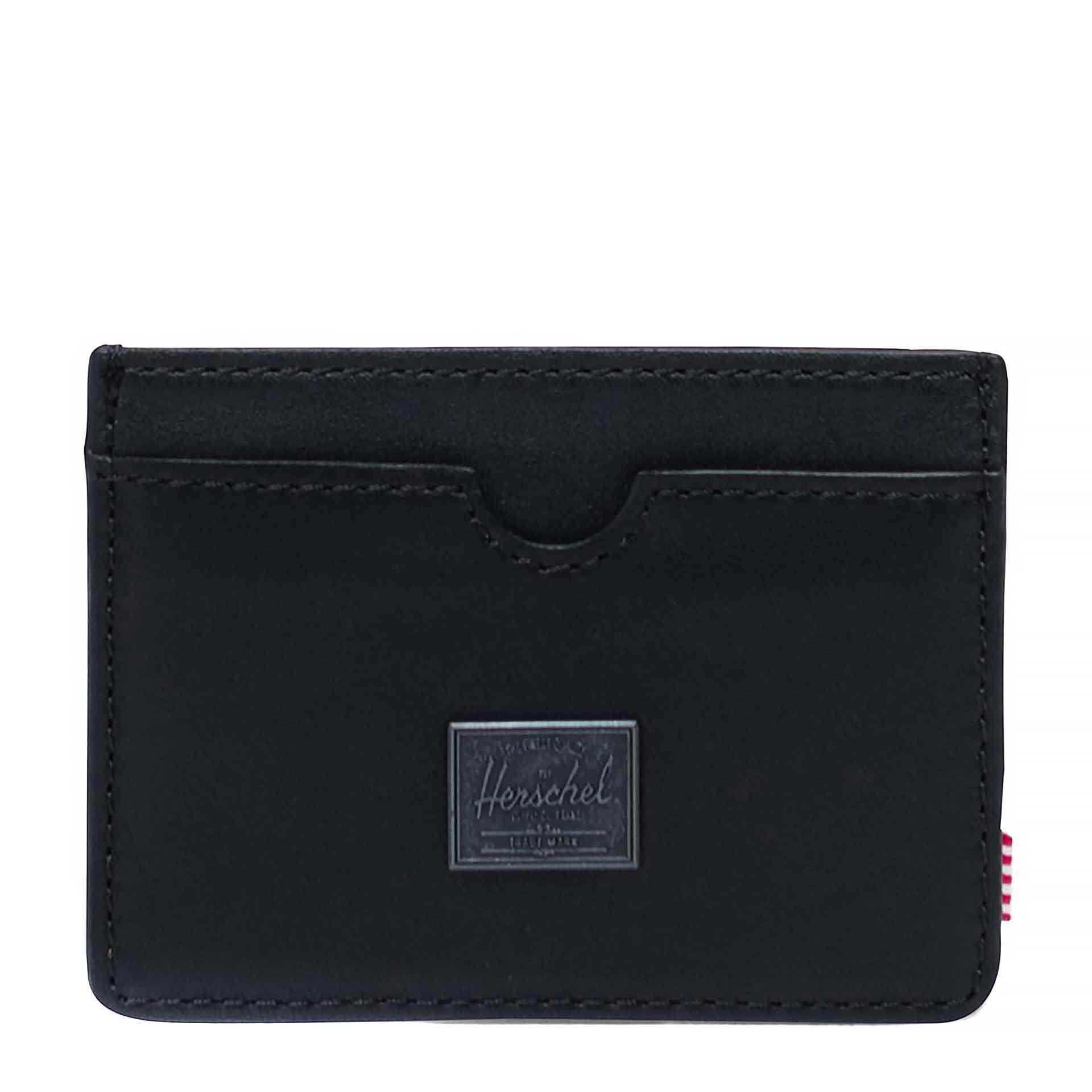 Herschel Charlie Geldbörse aus Leder black