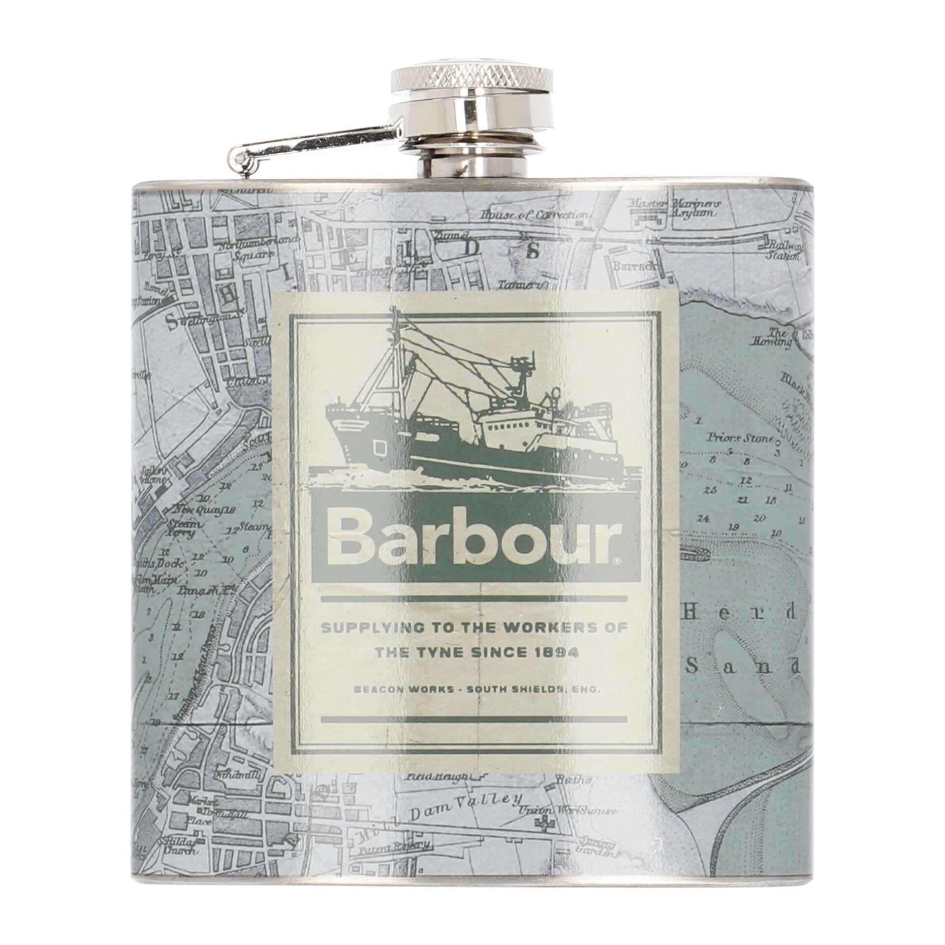Barbour Archive Flachmann  green