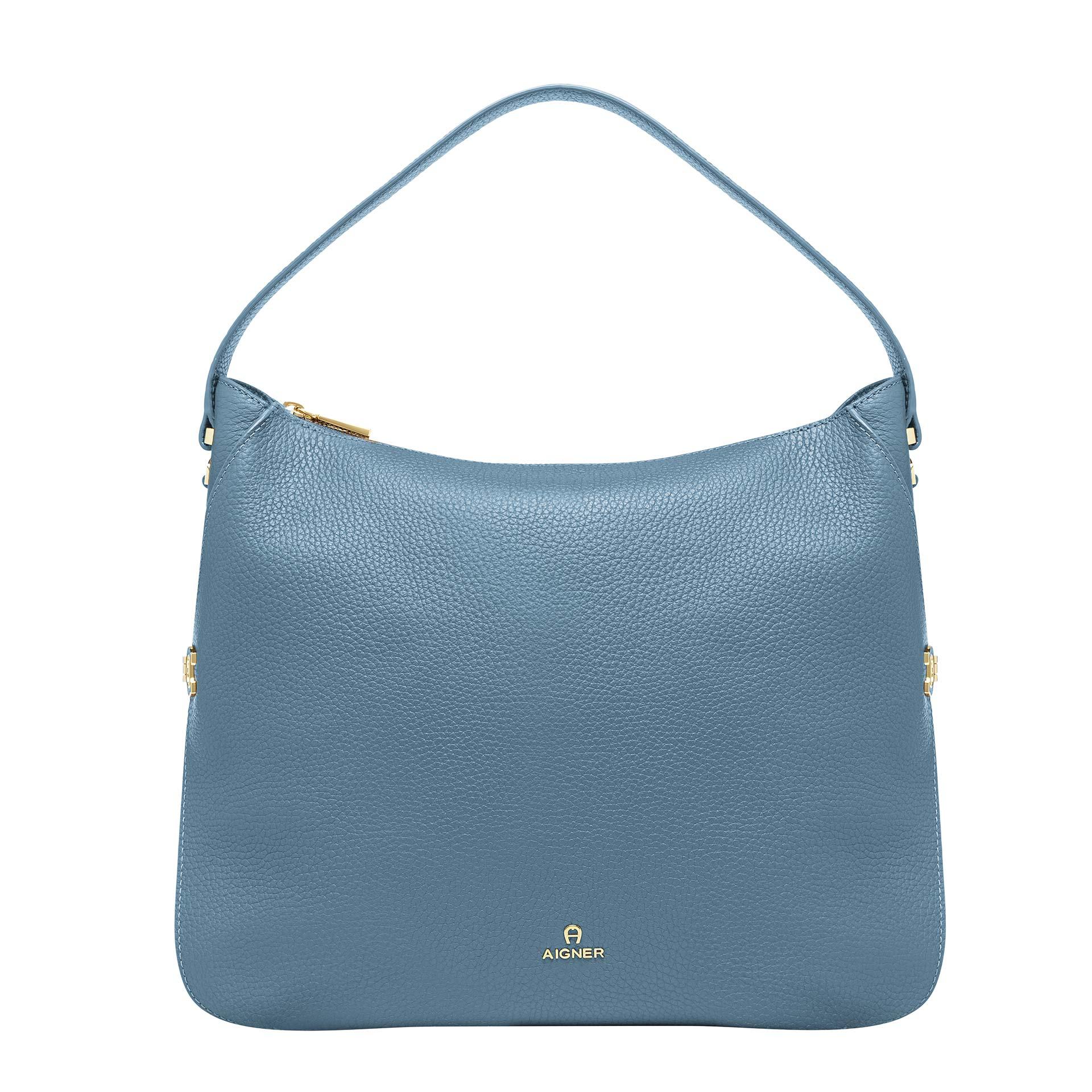 Aigner Milano Beuteltasche M dusk blue