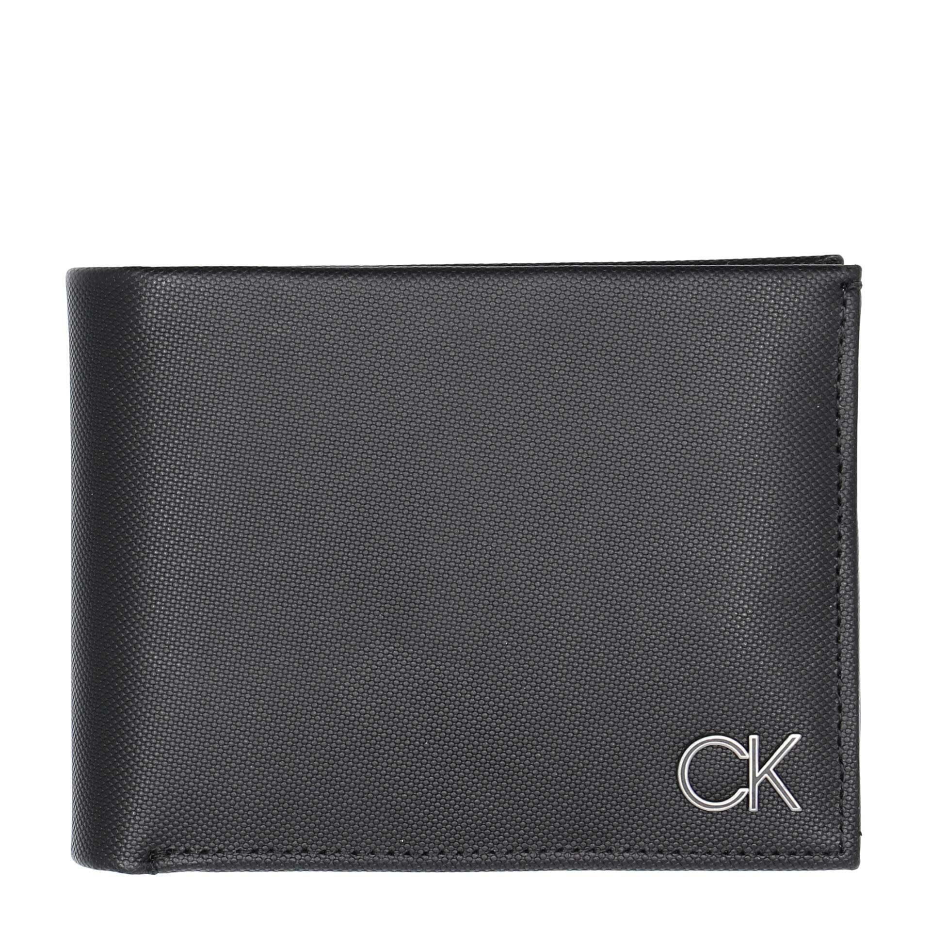Calvin Klein  Trifold 10CC W/ Coin Herrengeldbörse black
