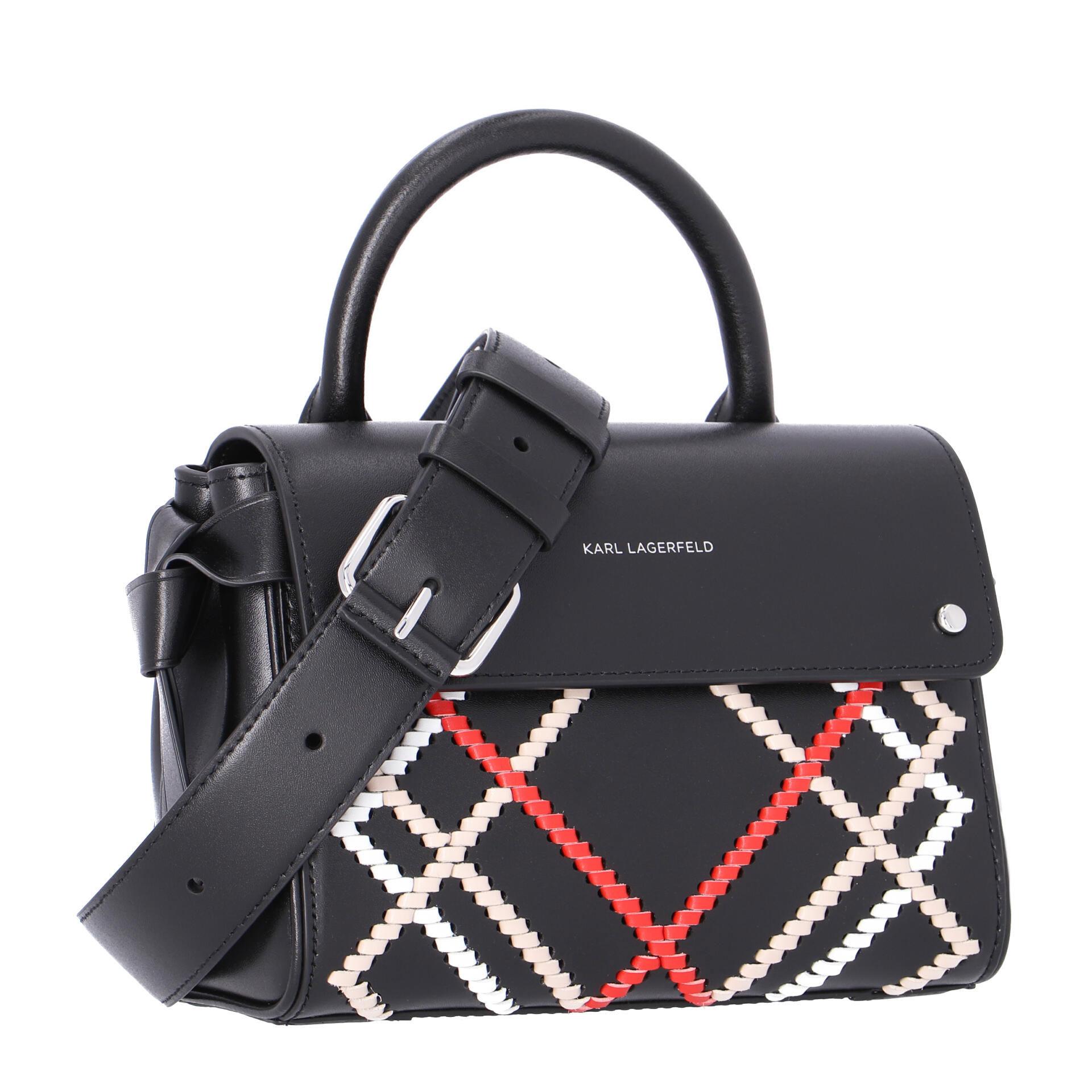 Karl Lagerfeld K/Ikon  Handtasche black multi