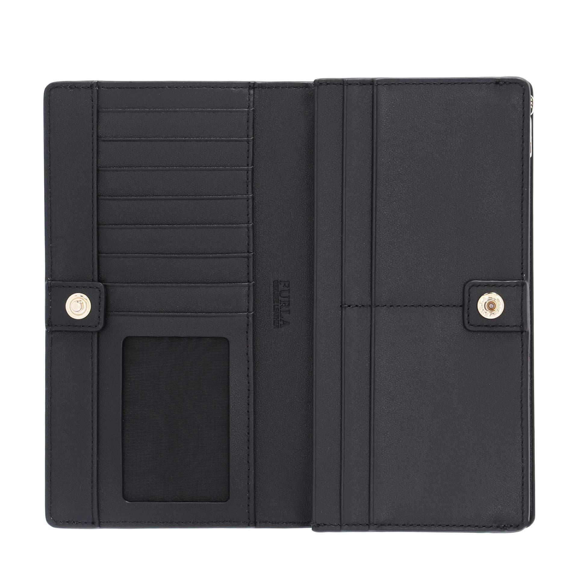Furla Astrid XL Bi-Fold nero