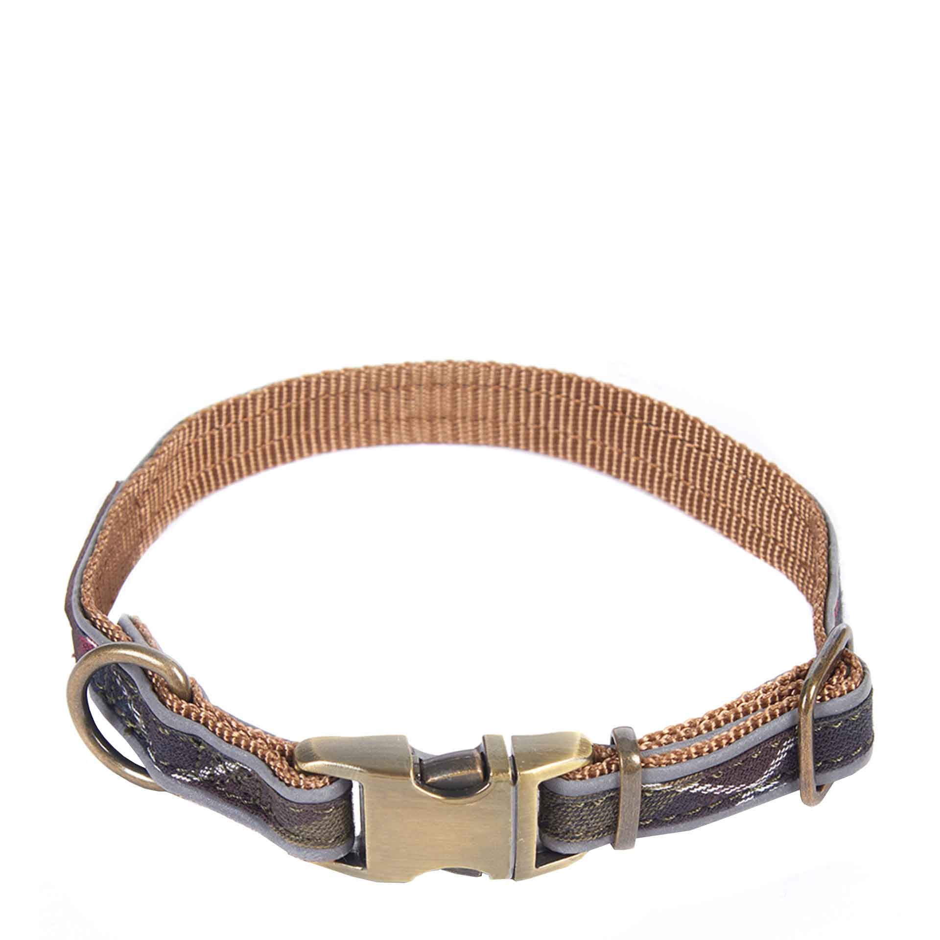 Barbour Reflective Tartan Hunde Halsband L classic tartan