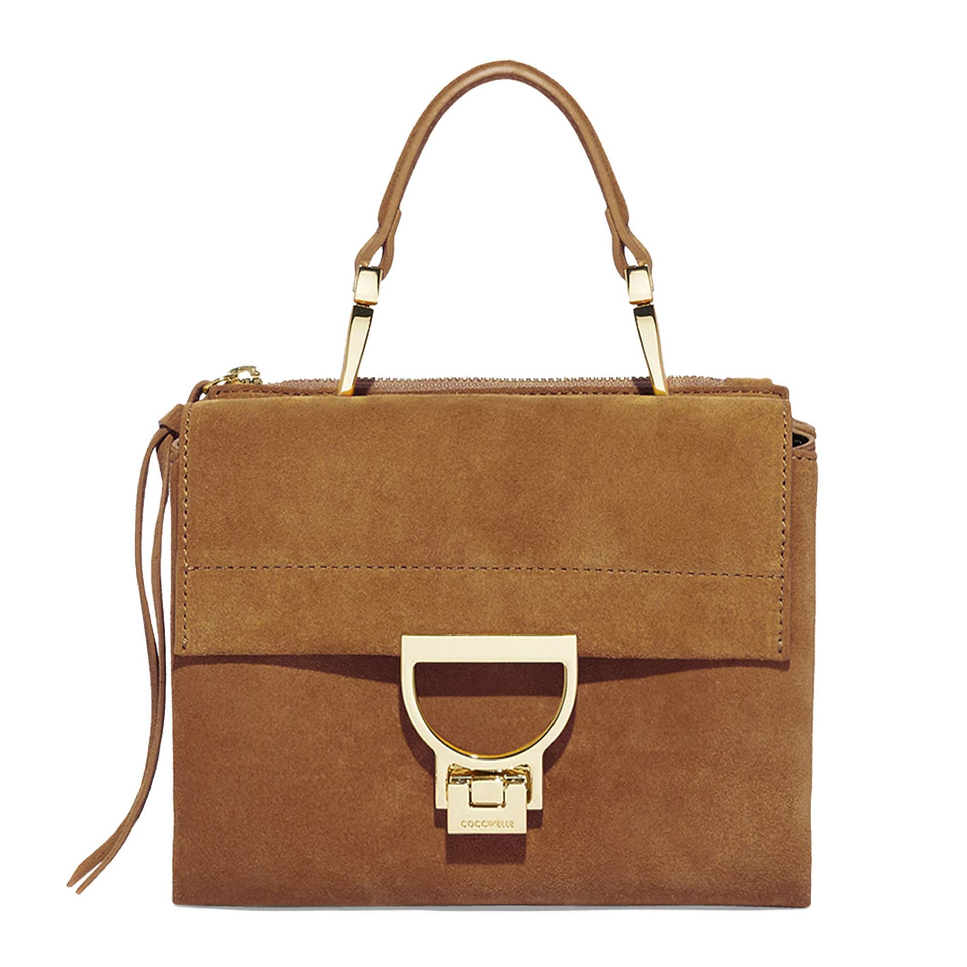 Arlettis  Suede Mini Bag aus Wildleder tobacco