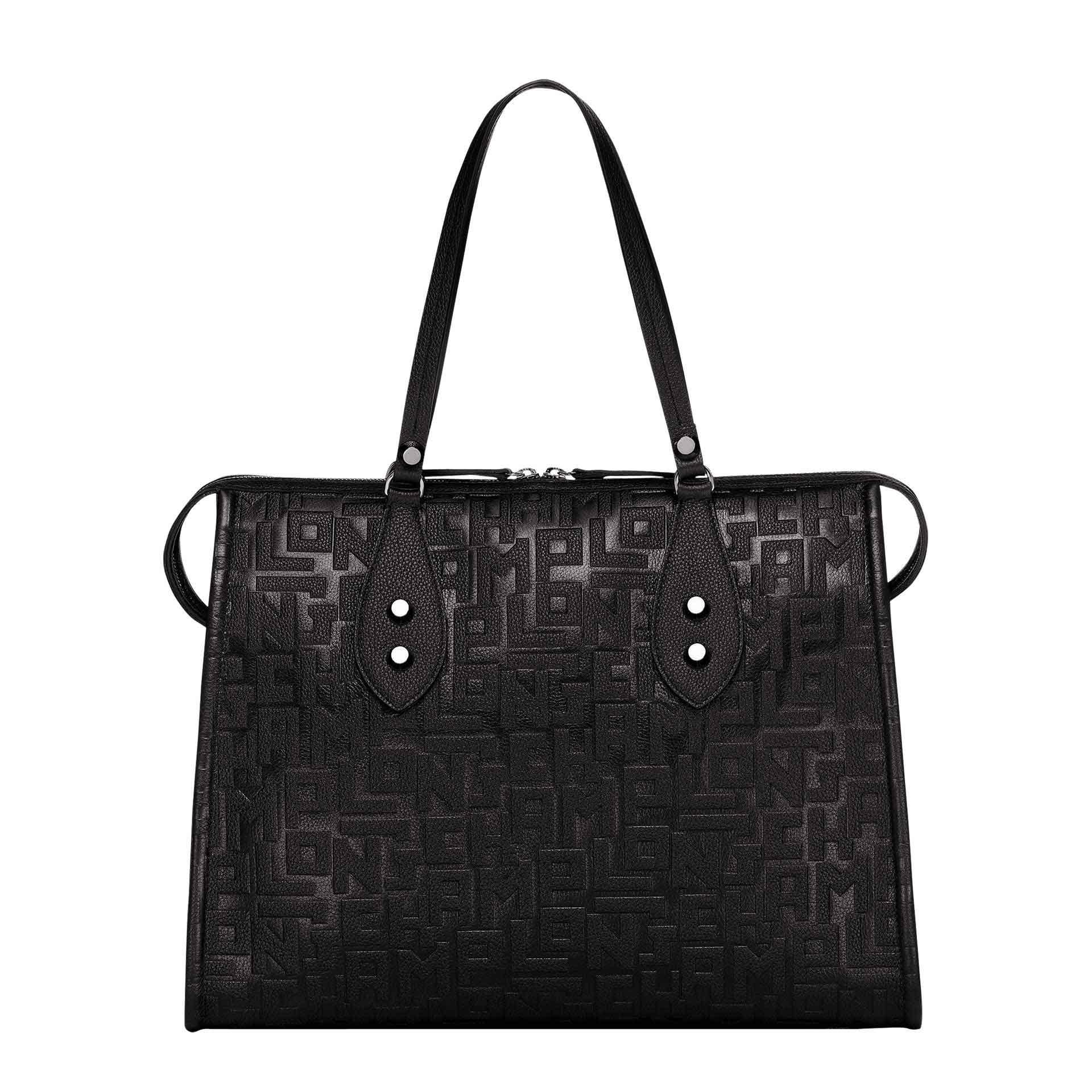 Longchamp La Voyageuse LGP Schultertasche black