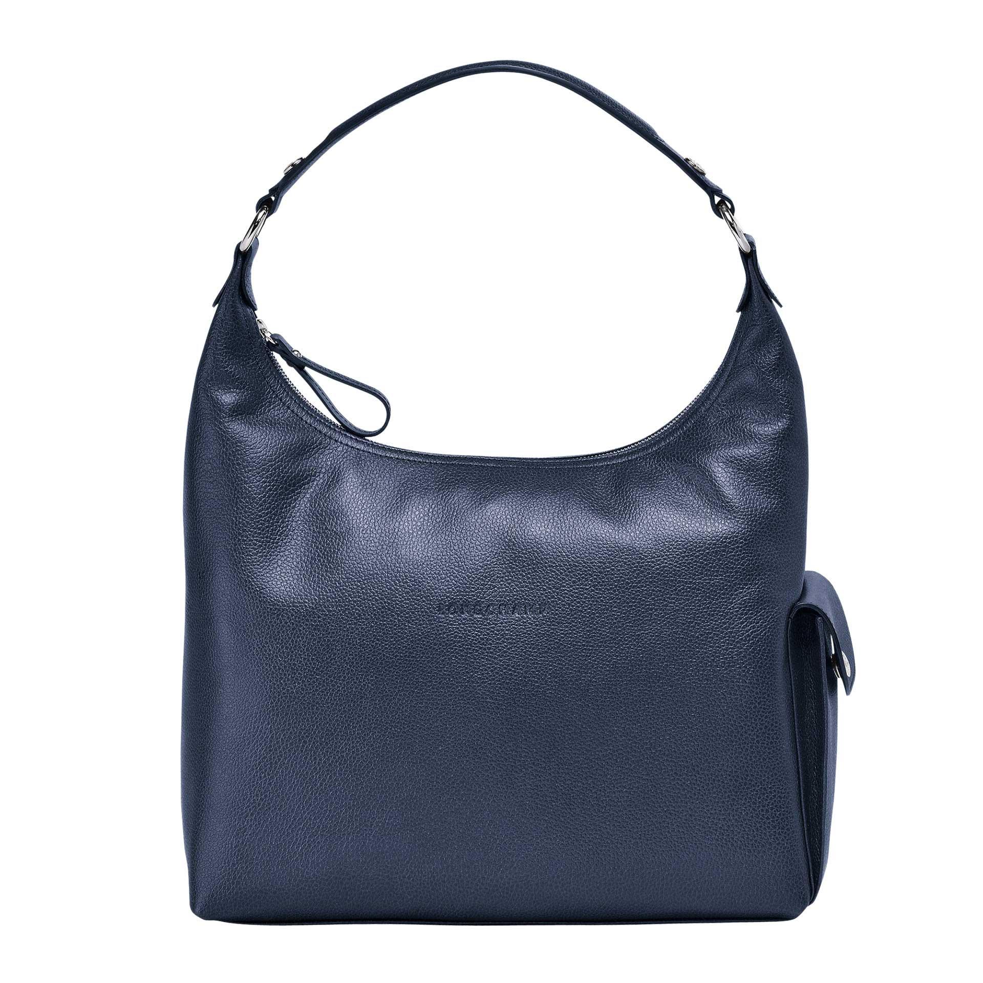 Longchamp Le Foulonné Hobo Bag navy