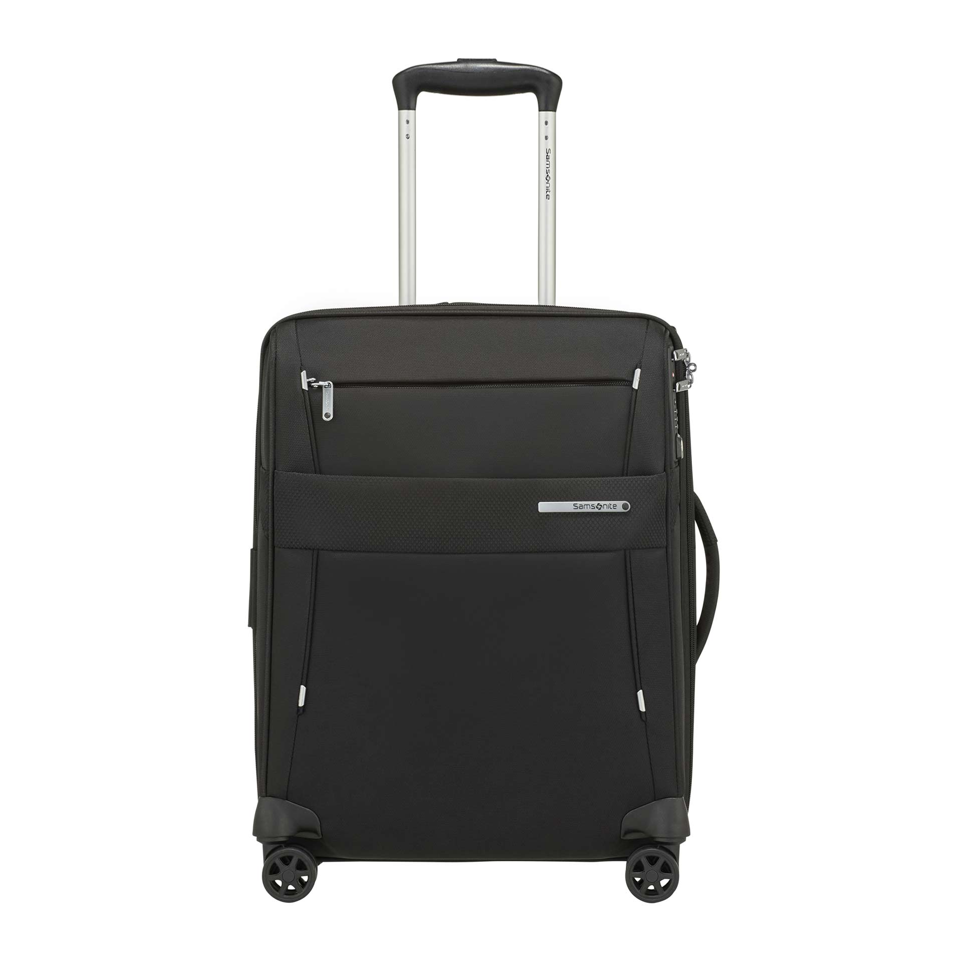 Duopack Trolley mit 4 Rollen 55 cm black