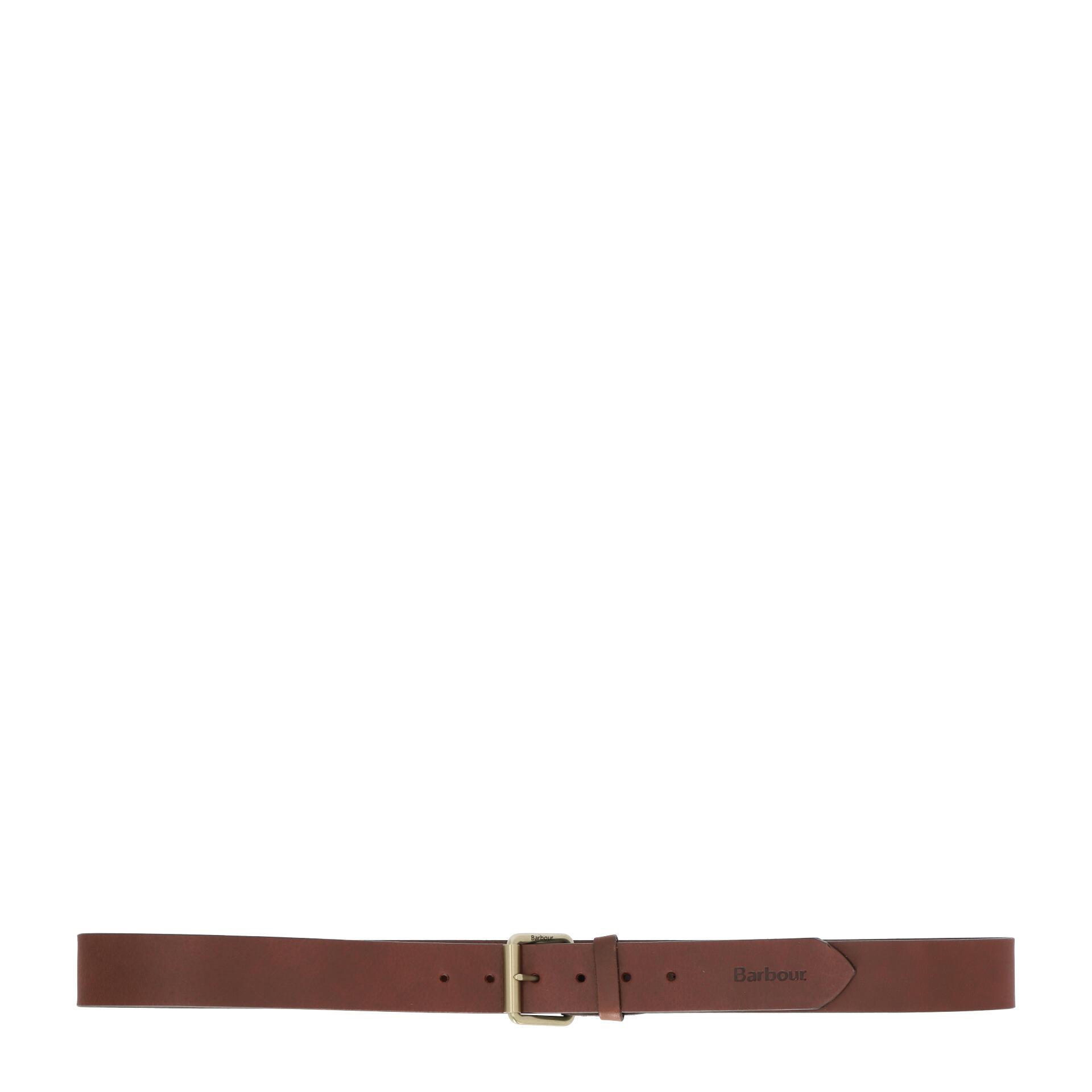 Barbour Contrast Gürtel 120 cm olive brown