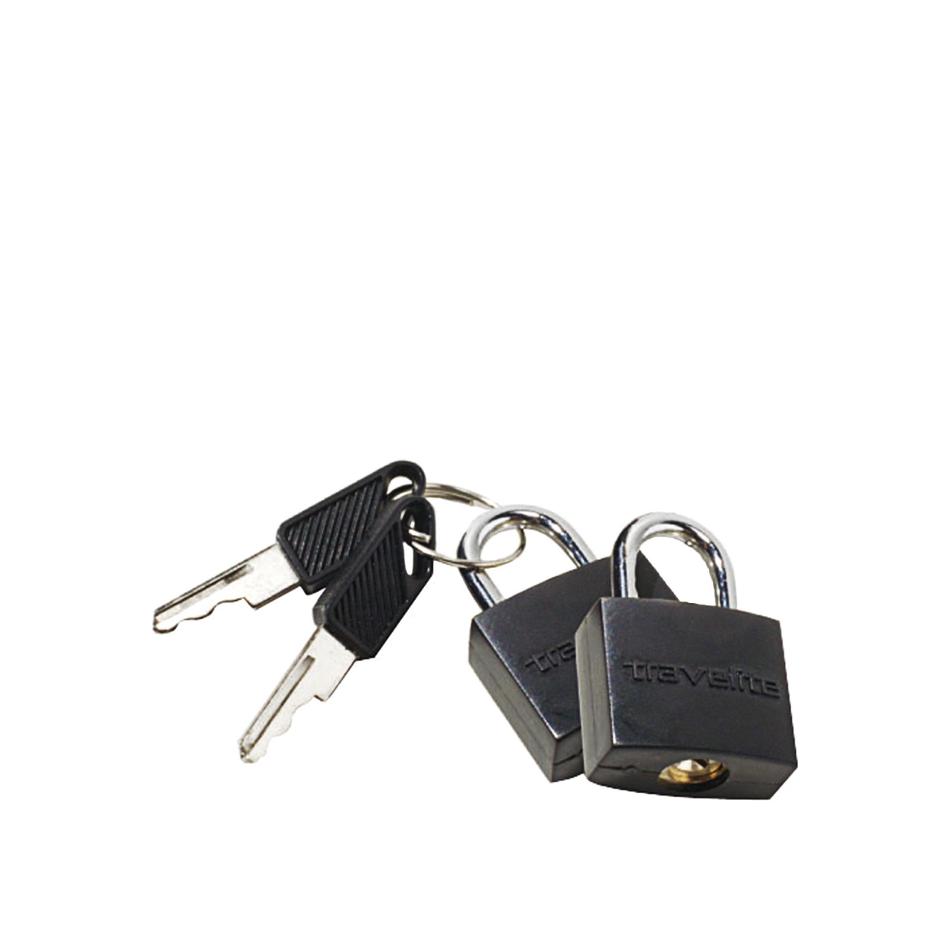 Accessoires Kofferschloss schwarz