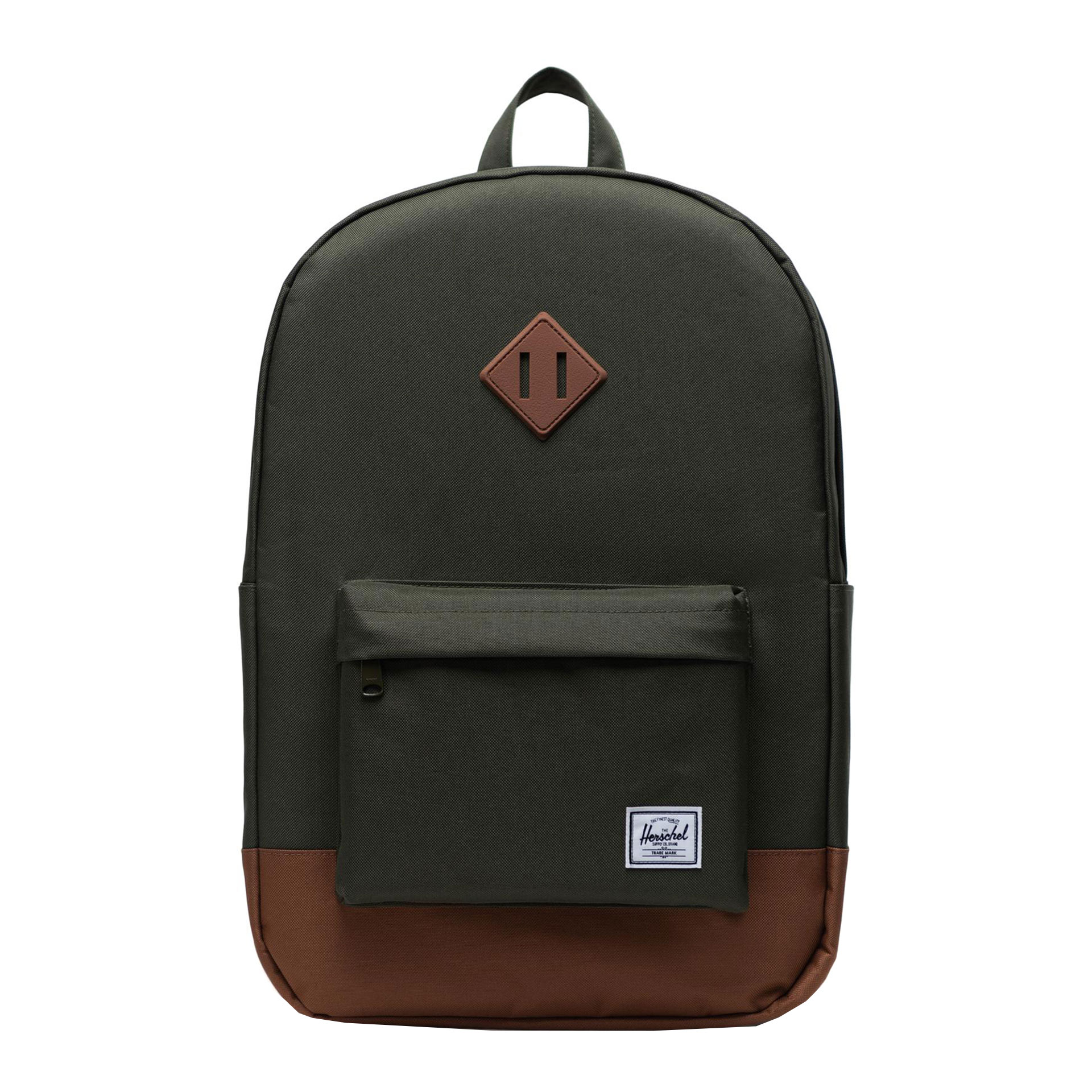 Herschel Eco Heritage Rucksack aus Recycling Material forest night