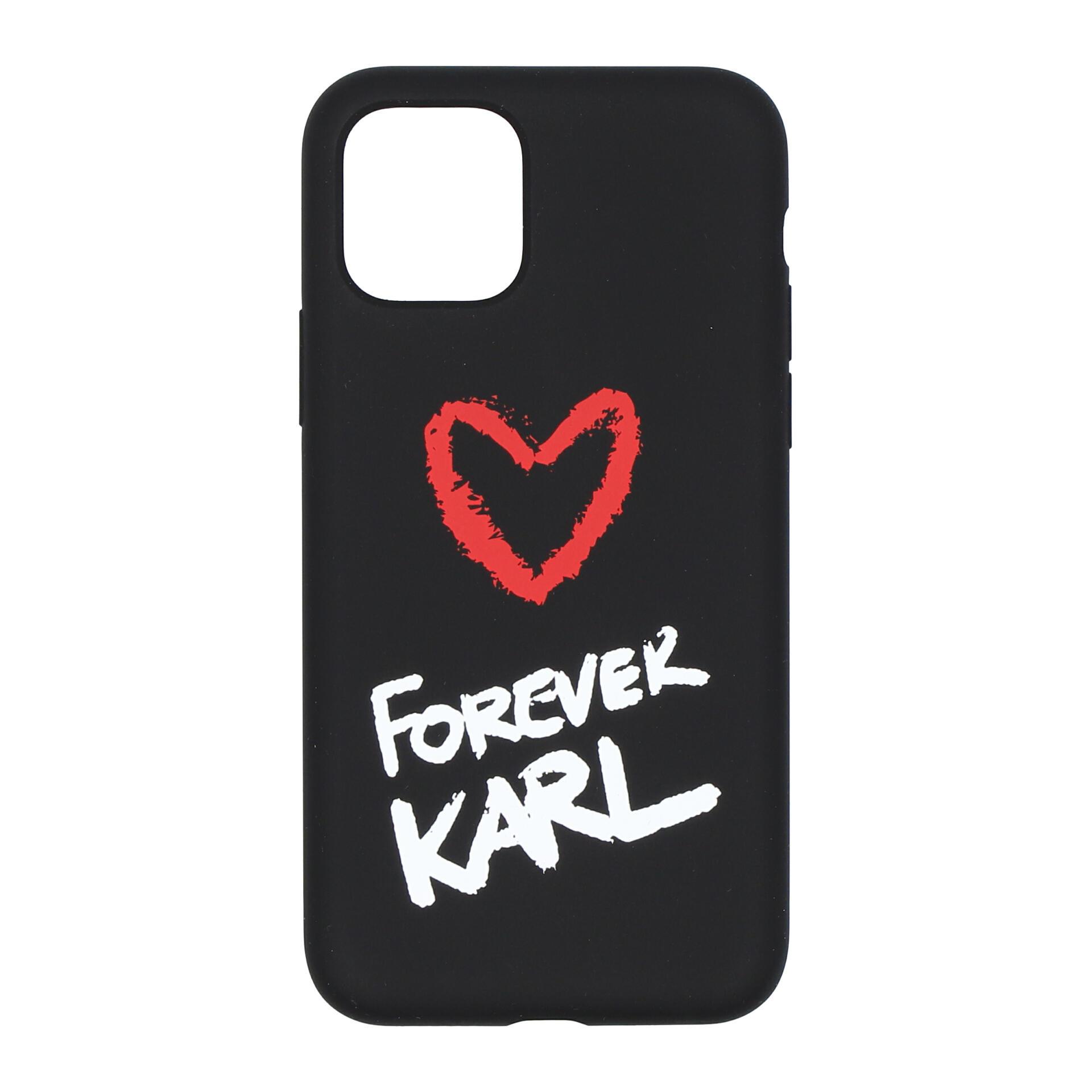 Karl Lagerfeld Karl Forever Handyhülle für iPhone 11 Pro black