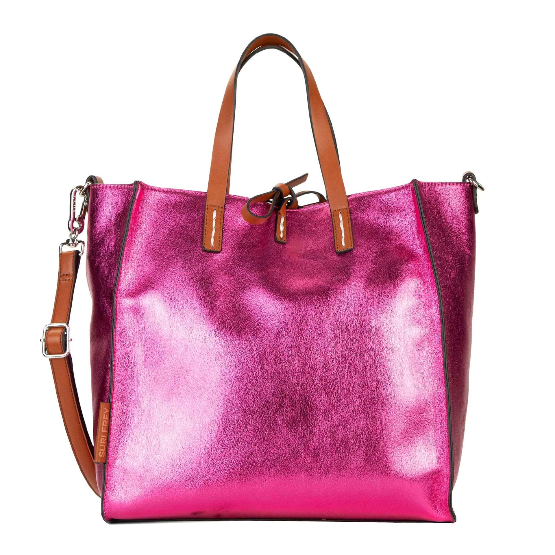 Suri Frey Suri Black Label Gracy Shopper metallic 2 in 1 pink