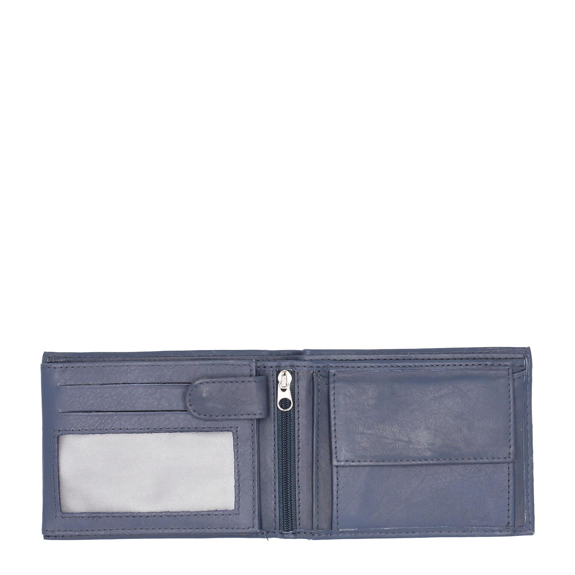 Herren Geldbörse blau