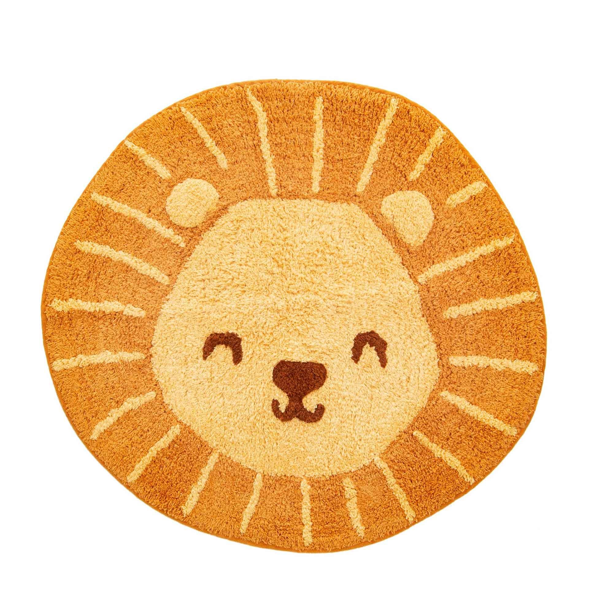 LEOKA Sass & Bell Kinderteppich lion head