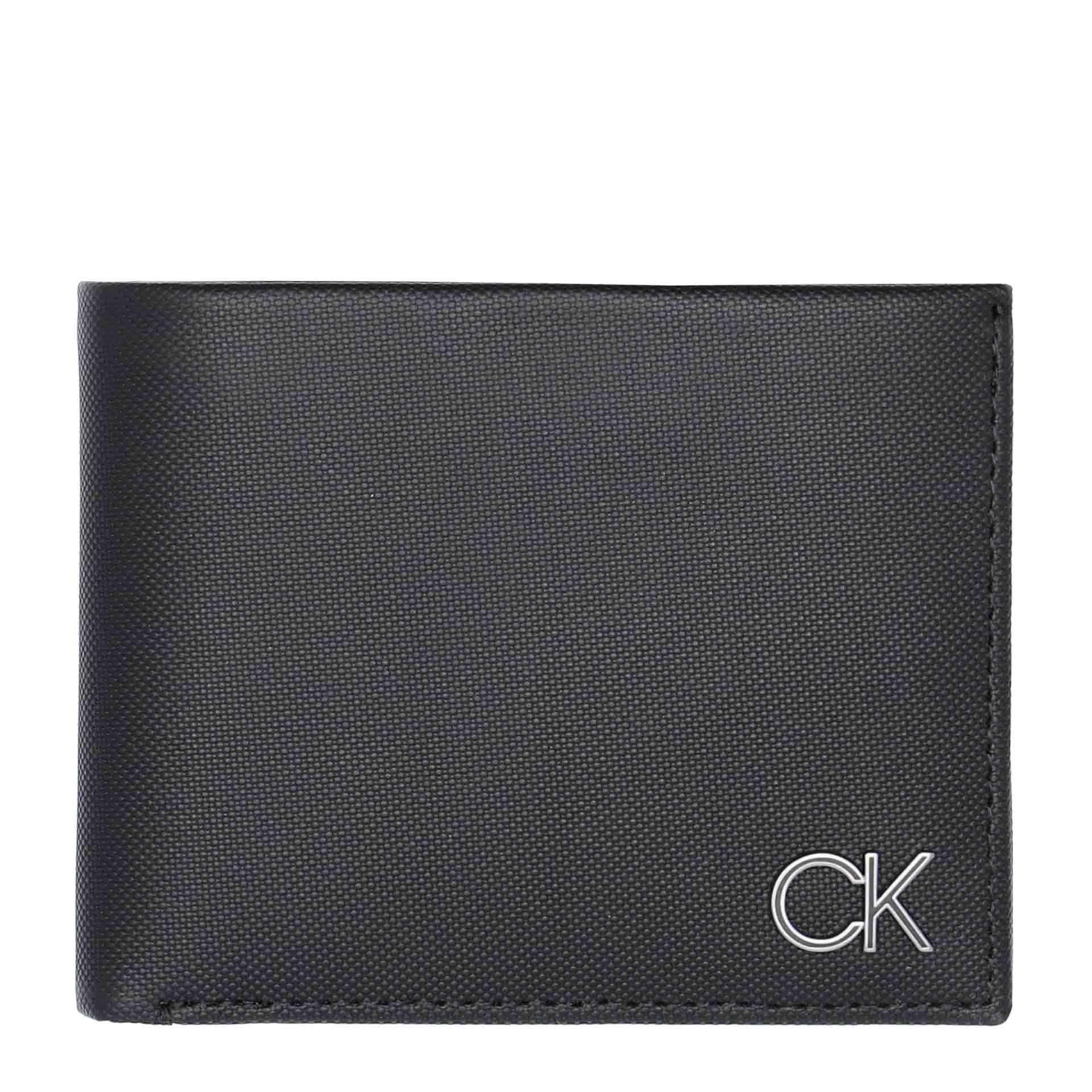 Calvin Klein  Bifold 5CC W/Coin Herrengeldbörse black
