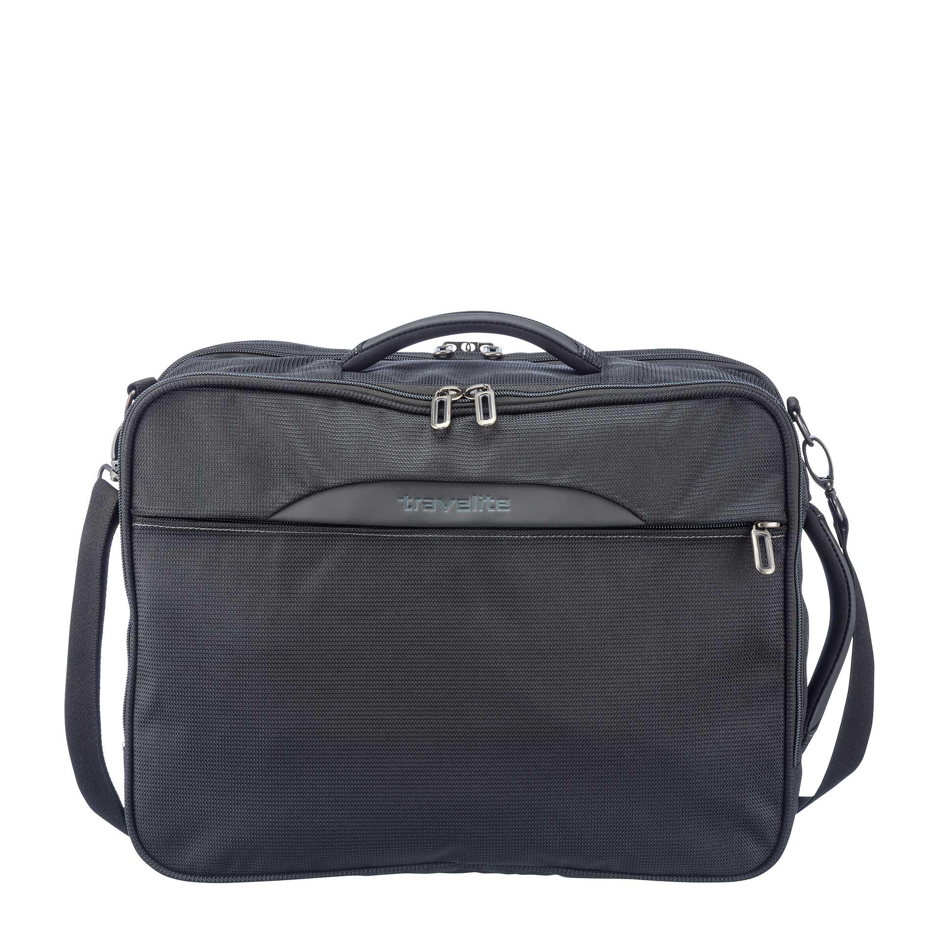 Crosslite Kombi-Tasche erweiterbar schwarz
