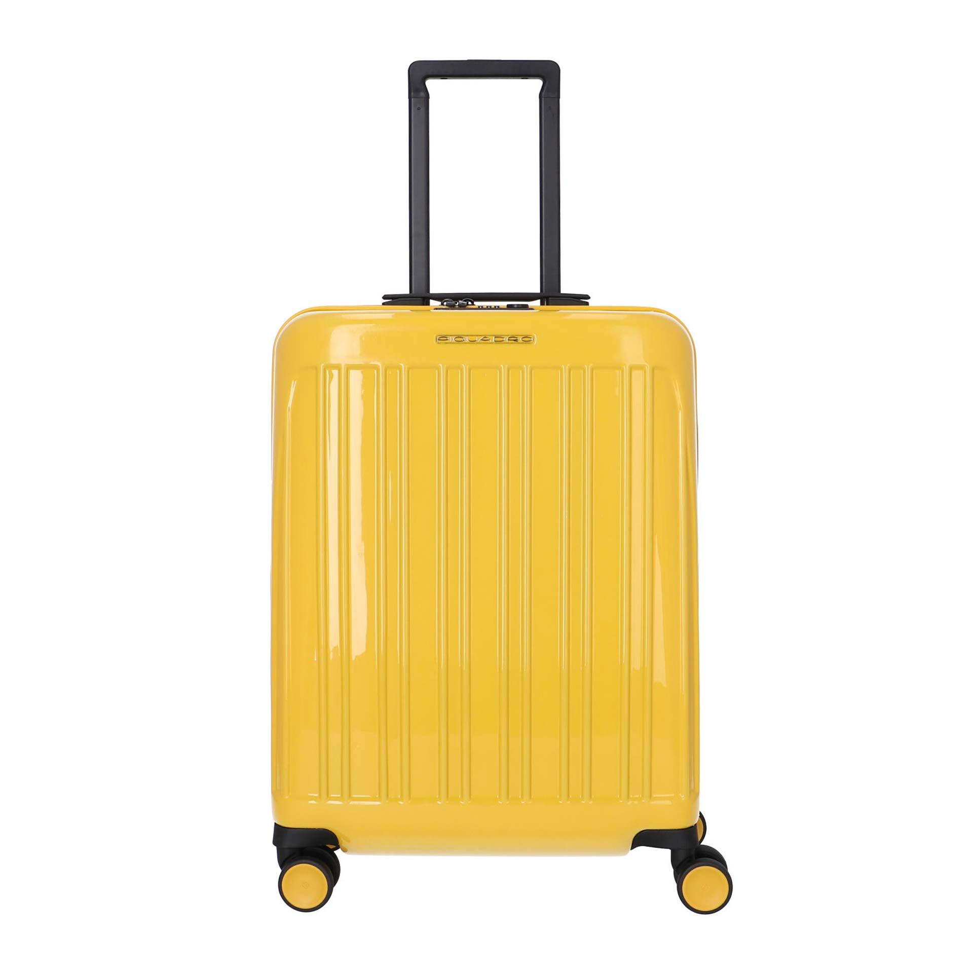 Piquadro Seeker Pop 4-Rad Trolley  yellow