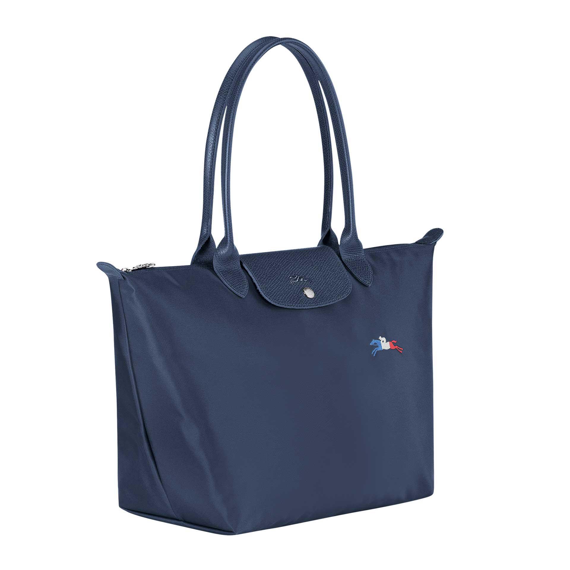 Longchamp Le Pliage Collection Shopper L navy