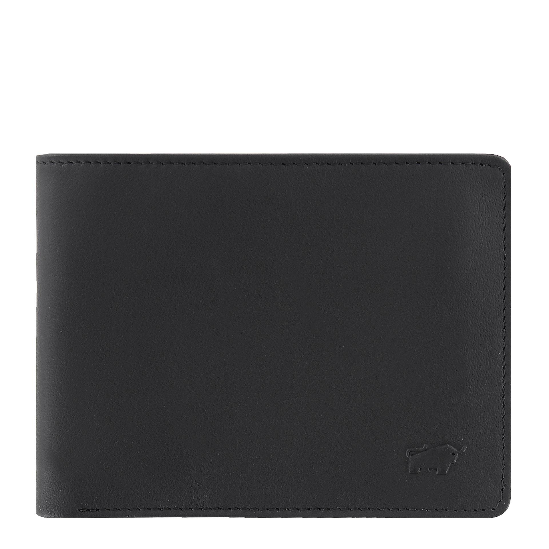 Braun Büffel Arizona Geldbörse 8CS mit Geheimfach schwarz