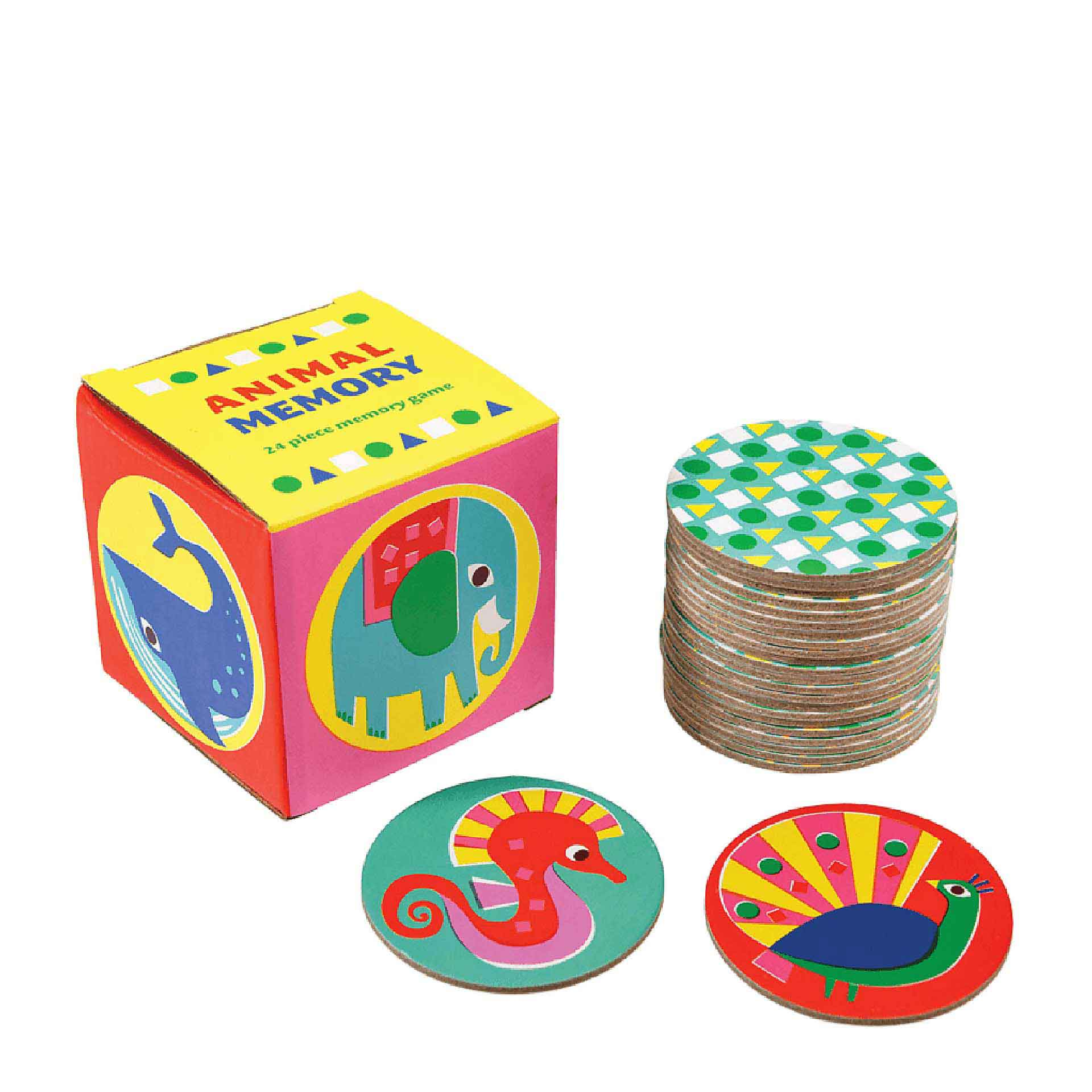 LEOKA Rex London Memory-Spiel 24-teilig animals