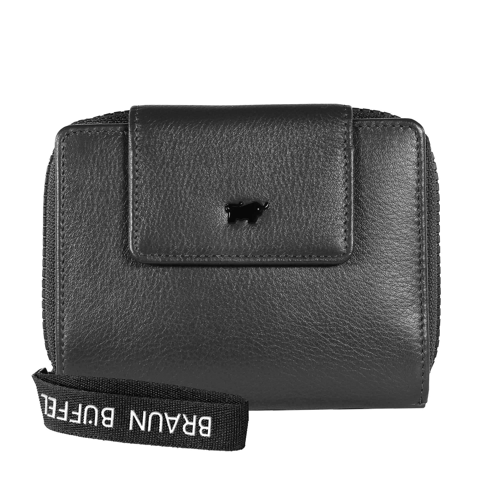 Braun Büffel Capri Geldbörse M 8CS schwarz